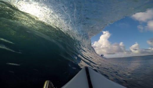 極小波1ft. それでも形よくきれいに割れるので十分に遊べるT-Land【11日目 ロテ島サーフトリップ2019】