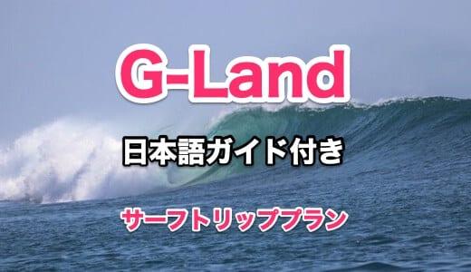 G-Land サーフトリップ プラン【1名から参加OK 日本語ガイド付き】