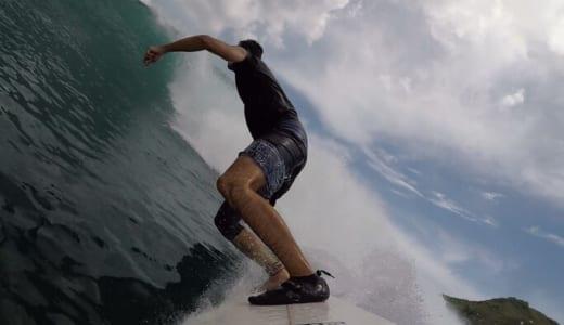 【2020年2月 ロンボク島編 4日目】サイズアップのアイルグリーン!デカい!でも良い波!